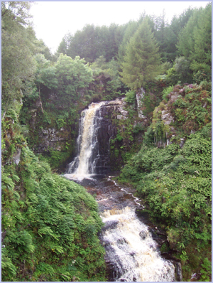 Glenashdale Falls, Whiting Bay | Isle of Arran – Whiting Bay – Viewbank House